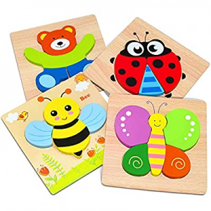 One Day Only!ATOPDREAM Educational Toys for 1-3 Year Old now 34.0% off , Toddler Puzzles Ages 1-3 ..