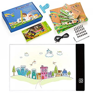 One Day Only!Flip Book Kit now 55.0% off , WEST BAY Flip Book Paper with A5 LED Light Box & 360 Sh..