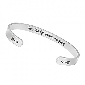 One Day Only!70.0% off BTYSUN Inspirational Bracelets for Women Teen Girls Personalized Birthday C..