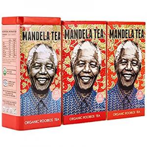 10.0% off Mandela Tea - Organic Rooibos Tea (60 Tea Bags) | Delicious Organic Red Herbal Tea from ..