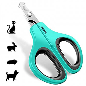 JOFUYU Cat Nail Clippers - Professional Cat Nail Trimmer – Angled Blade Pet Nail Trimmer and Clipp..