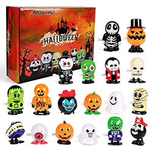 One Day Only!AMOSTING 18 Pack Halloween Decorations Toys for Kids now 30.0% off ,Boys&Girls Hallow..
