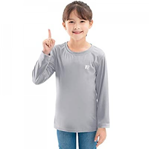 20.0% off FORENJOY Youth Girls UPF50+ Sun Protection Shirts Quick Dry Long Sleeve Hoodie Shirt Hik..