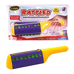 10.0% off Rattled - Fast & Fun 2-Player/Team Word Spelling Game. Shake to Mix Up The Letters & Rac..