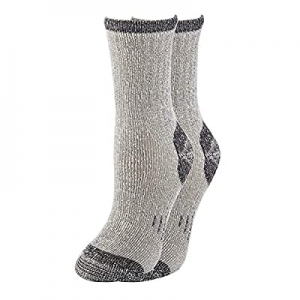70% Merino Wool Women Crew Socks - Hiking Outdoor Athletic Thermal Thickening Cushion now 80.0% off