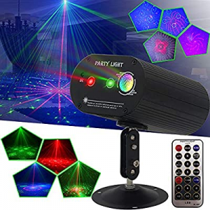 Party Lights DJ Disco Lights now 30.0% off , Sound Activated and Remote Control 36 Led Patterns Pr..