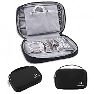 One Day Only!Jewelry Organizer Bag Travel Jewelry Storage Cases now 62.0% off , Lekesky Women Port..