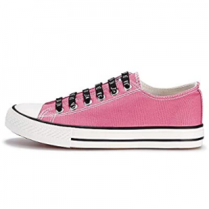 45.0% off JENN ARDOR Women's Canvas Sneakers Low Top Lace-Up Classic Casual Shoes Fashion Comforta..