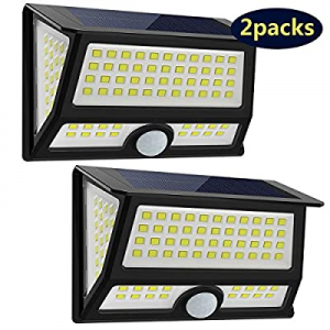 CREATIVE DESIGN Solar Lights Outdoor now 40.0% off , 102 LED Solar Motion Light Wall Light Solar G..