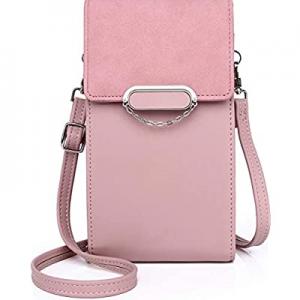 Zanesun Crossbody Cell Phone bag for Women now 30.0% off , Small PU leather Handbag Purse Ladies W..