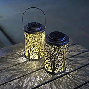 Hanging Solar Lights Outdoor - Solar Lanterns Garden Solar Patio Table Lamps Decorative SUNWIND 2 ..