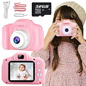 Nobie vivid Kids Camera now 15.0% off , Kids Selfie Camera Camcorder 2.0 Inch IPS Screen with 32GB..