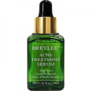 Acne Treatment Serum now 50.0% off , BREYLEE Tea Tree Oil Clear Skin Serum for Clearing Severe Acn..