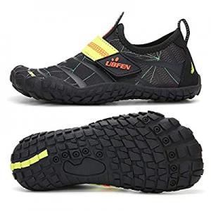 40.0% off UBFEN Water Shoes for Kids Boys Girls Aqua Socks Barefoot Beach Sports Swim Pool Quick D..