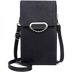 Zanesun Crossbody Cell Phone bag for Women now 30.0% off , Small PU leather Handbag Purse Ladies W..