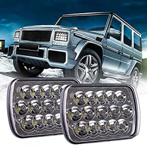 One Day Only!BLIAUTO H6054 LED Headlights now 50.0% off , 5x7 7x6 LED Headlamp H4 9003 Plug 6054 H..