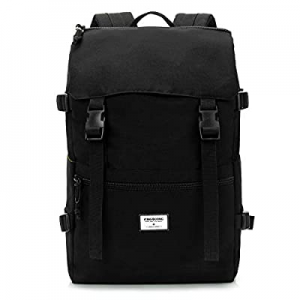 One Day Only!KINGSLONG Laptop Outdoor Backpack College Casual Hiking Daypack for Men Women now 55...