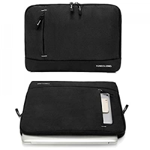 KINGSLONG Slim Laptop Sleeve Case for Women and Men Carrying Handbag Cover Fit Up to 15.6 Inches n..