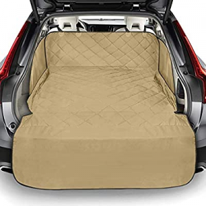 One Day Only!Packism Pet Cargo Cover Liner for SUV now 34.0% off , Waterproof Dog Cargo Liner Cove..