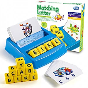 One Day Only!Toys for 3-8 Year Old Boys Girls Toys for Kids Age 3-8 Matching Letter Game Education..