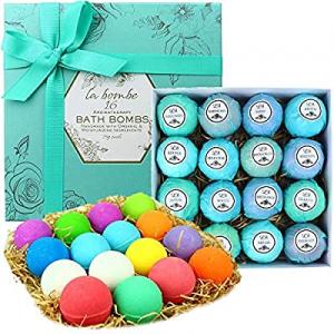 La Bombe Organic Bath Bomb Gift Set, 16 Count now 50.0% off