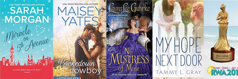 Top 8 RITA Award Books on My List