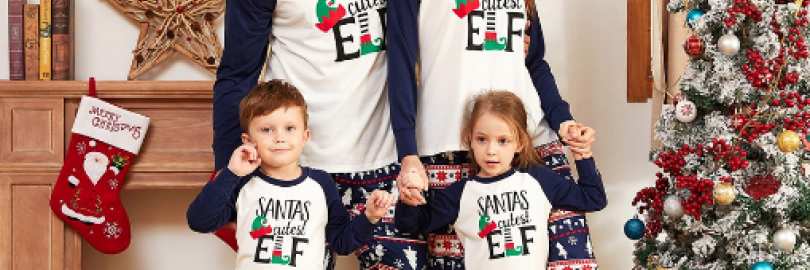 20 Cute and Funny Christmas Pajamas Sets for The Whole Family 2020(Up to 11% Cashback)