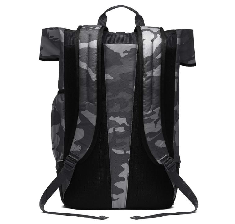 big sale f80df 90082 NIKE Sport All Over Print Golf Backpack, Anthracite Black Anthracite ...