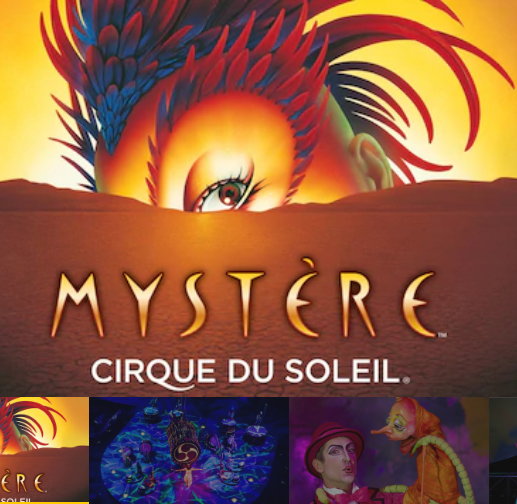 Mystère by Cirque du Soleil at Treasure Island