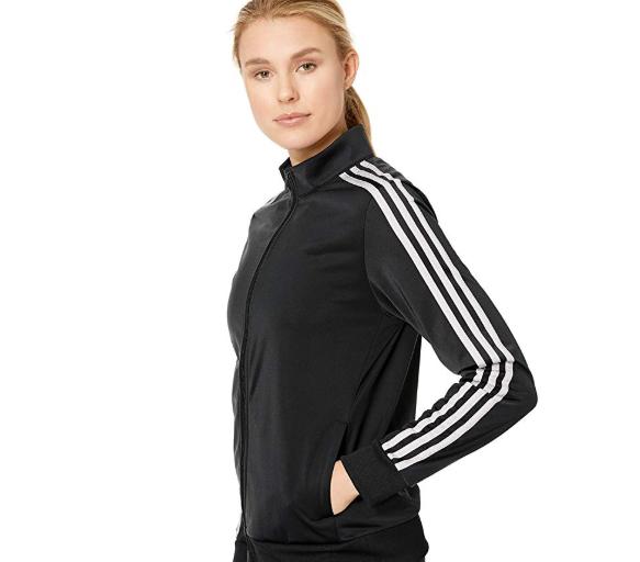 ADIDAS Track TOP Jacke für Damen, Schwarz (Schwarz): Amazon
