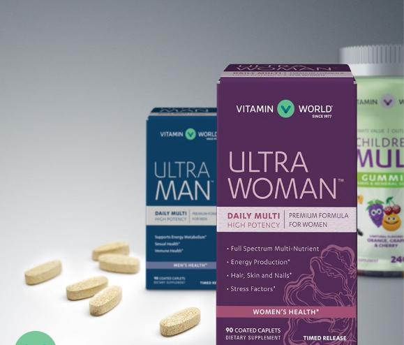2021美国著名保健品网站Vitamin World海淘攻略(直邮/转运+优惠码+8%返利)