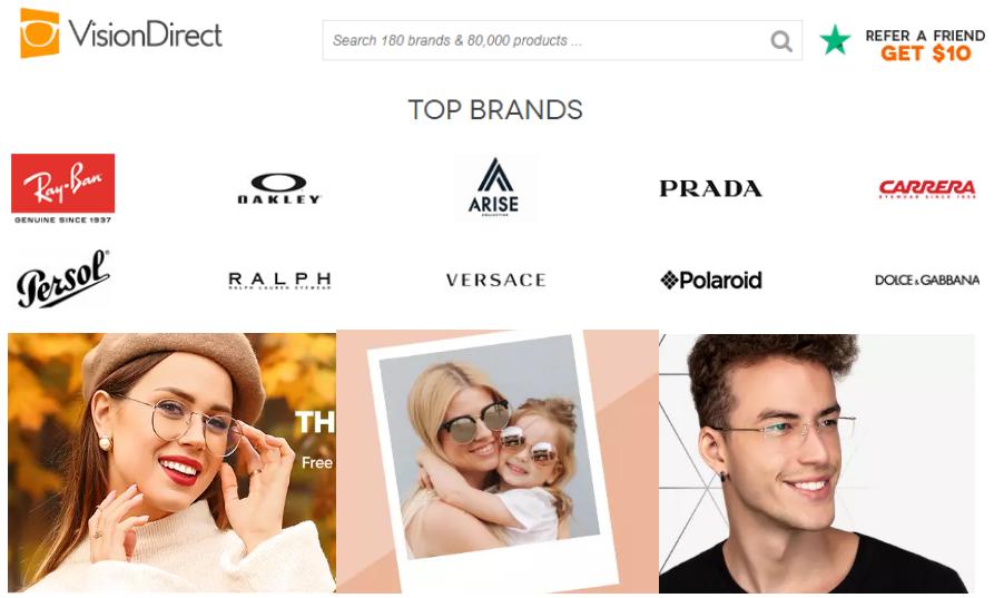 2020澳洲设计师眼镜店Vision Direct官网海淘攻略(附直邮+优惠码+8%返利)