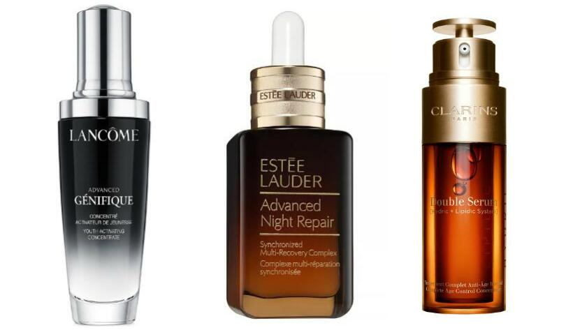 Lancome Genifique vs. Estee Lauder Night Repair vs. Clarins Double Serum: Which is Best for You?