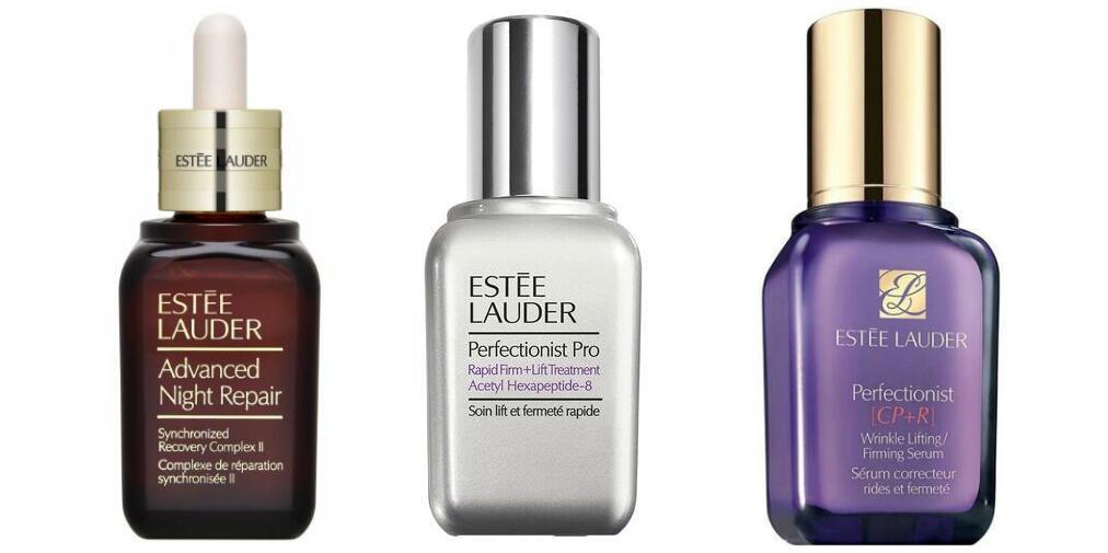 Three Estée Lauder Anti-aging Serums Comparison + Reviews