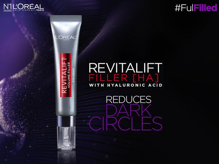 L'Oreal RevitaLift Filler [HA] Eye Volume Redefiner Review
