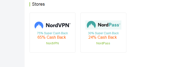 How Can I Get up to 75% Cashback at NordVPN and NordPass?